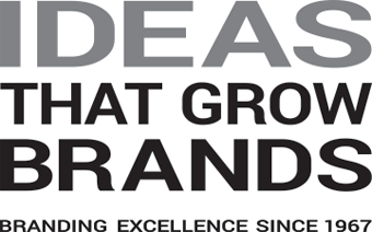Ideas that grow brands. Branding excellence since 1967