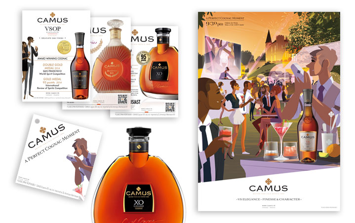Camus Wines & Spirits Group Marketing Materials by Reisigl