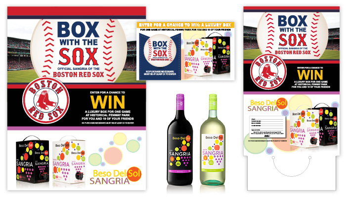 Beso Del Sol Sangria Boston Red Sox