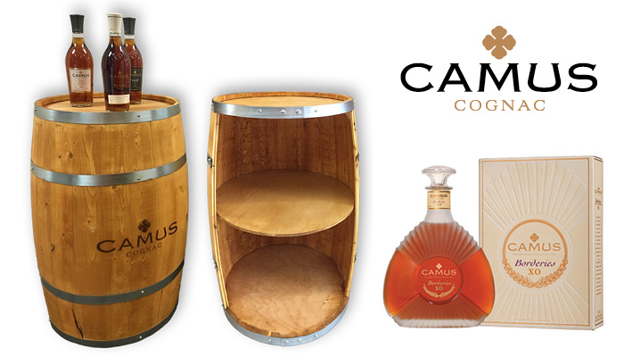 Camus 30 Gallon Oak Barrels