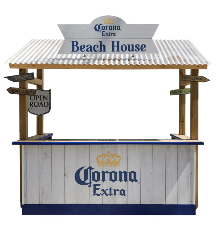 Corona Extra Beach House Portable Bar